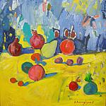 , , STILL LIFE WITH FRUICTS, , 2011, oil on canvas, 85x75