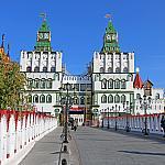 Entrance to the Izmailovo Kremlin