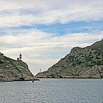 Exit from the Balaklava Bay