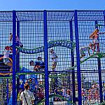 Kids in a cage