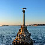 Monument of sunken ships