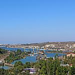 Mouth of the Chernaya river