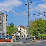 Near the hotel Ukraine