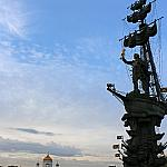 Peter the Great and the Cathedral of Christ the Savior