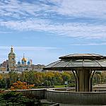 Pokrovskaya church in Novospassky Monastery