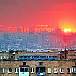 Sunset over Moscow_1