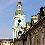 Troitskaya church in Serebryaniki