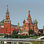 View of the Kremlin from the Bolshoy Ustyinsky bridge