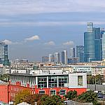 View on Moskva-City