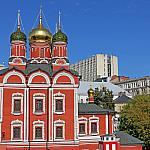 Znamensky Cathedral and Varvarka street