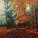 Геометрический лес. Осень