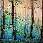 Геометрический лес. Весна