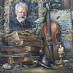 Натюрморт со старой скрипкой