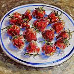 Клубника (40х30 см) Strawberries