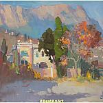 Осень в Алупке