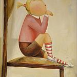 Девочка мечтающая о многом