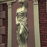 Кариатида Версаль между колоннами
