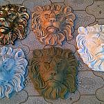 Морды львов