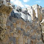 украшение атлантами Эллада внешних стен