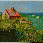 Fishermans Cottage At Varengeville Claude Oscar Monet [copy]/Хижина рыбака в Варенжвиле [копия]