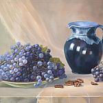 Натюрморт с виноградом и кувшином