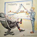 Карикатура: Инвестор