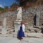 Эфес. Статуя целителя Александроса