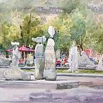 Городской фонтан ( скетч №4)
