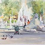 Летний фонтан ( скетч №1)