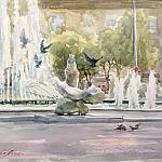 Летний фонтан (скетч№2)