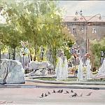 Летний фонтан( скетч№3)