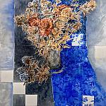 Летний сухоцвет ( левая часть диптиха )