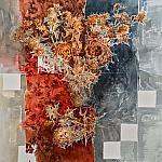 Летний сухоцвет ( правая часть диптиха )