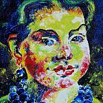 Alfisa Mubarakovna. Oil on canvas, 40-33, 1992.