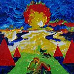 Camp. Oil on canvas, 50-70, 1978.