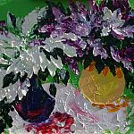 Lilac. Oil on canvas, 50-70, 2005. (Expressive sublimatizm).