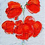Poppies. Oil on canvas, 50-40, 2006.