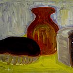 Rustic bread. Oil on cardboard, 35-49. 1968.