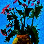 Weed. Oil on canvas, 50-40, 1982.