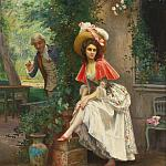 JULES GIRARDET A finely turned Ankle
