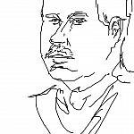2020-2-21 Портрет МЧ с усиками ( 5 минут 3 секунды) №223