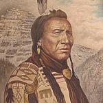 Chief big spring blackfoot warrior great
