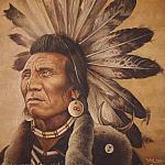 Chief Eagle. Salish