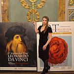 The awards ceremony of International Prize Leonardo Da Vinci inside the Borghese Palace in Florence